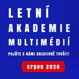 Otevíráme 6. ročník Letní akademie multimédií