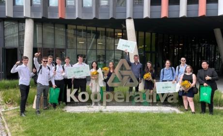 Studenti Multimédií z pražské VŠE navázali spolupráci s agenturou Isobar a společně pracovali na projektu, který pomáhá Čechům třídit odpad