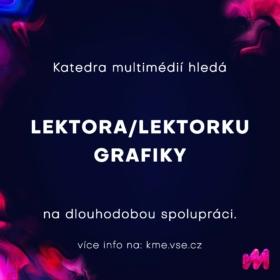 Hledáme novou posilu pro náš lektorský tým grafiků!