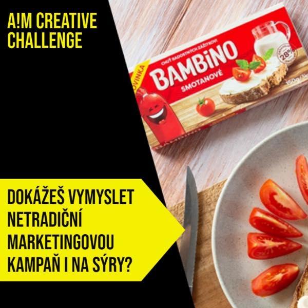 Marketingové soutěž A!M Creative Challenge je i letos dobyta našimi studenty